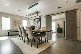 View In Gallery Contemporary Farmhouse Style Shapes The Formal Dining Room Design Olsen Studios