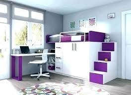 lit mezzanine bureau blanc lit sureleve fille chambre mezzanine fille mezzanine adolescent lit