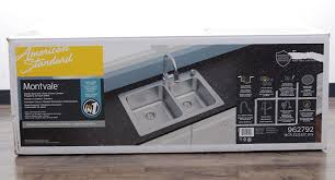33x22 Stainless Steel Sink by American Standard Kitchen Sink Faucet Combo Home Design Interior