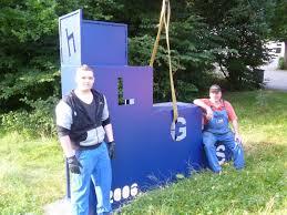 der rundweg der blaue stuhl in bad wildungen eder dfradio
