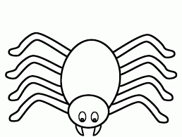 Spider Colouring In Pages teojamafo