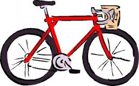 People Ridding Their Mountain Bikes Royalty Free Clipart Picture