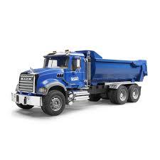 Shop Bruder Toys Boy's MACK Granite Metal Halfpipe Dump Truck - Free ...