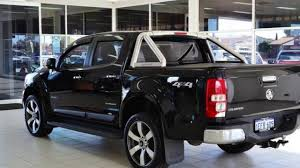 2013 Holden Colorado RG LTZ Thunder (4x4) Black 5 Speed Manual ...