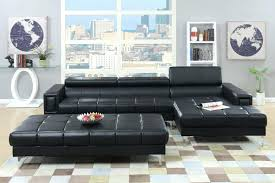 Buchannan Microfiber Sofa Set by Articles With Black Microfiber Small Sectional Sofa With