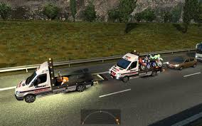 100 Tow Truck Simulator SPEC VEHICLES IN TRAFFIC TOW TRUCKS FOR 124 2 ETS 2 Mods Euro