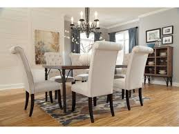 Tripton Dining Upholstered Side Chair with Button Tufting and Roll Back Design by Signature Design by Ashley at Coconis Furniture & Mattress 1st