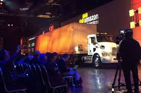 Amazon Uses Trucks To Drive Data Faster - WSJ New Fire Truck For Peterborough The Flinders News To1967 Until You Install New Ones 700 Lbs Capacity Utility Hand Truck Ge 30 In W 208 Cu Ft French Door Refrigerator Slate Stevens Srt Steel Appliance Bigfoot Professional 2 Wheels Dolly Cart Moving Mobile Everything Is Broken Rocky Mountain Fiction Writers Fniture Dolly With Straps 4k Pictures Full Hq 1800 Lb Capacity78h Vending Handtruck Flying Trucks Hub City Times
