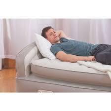 aerobed comfort anywhere 18 air mattress with headboard 945