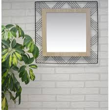 spiegel square wand aus metall und mdf spiegel ursprünglichen und modernen dekorativen dekoration schlafzimmer wohnzimmer
