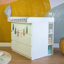puckdaddy stauraumregal moritz 19x30x75cm in weiß passend zu ikea malm kommoden kinderzimmer