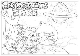Angry Birds Fargelegging For Barn Tegninger Utskrift Og No 5