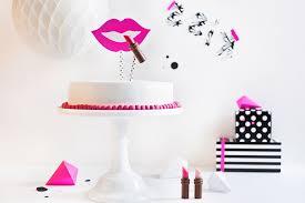 make up torte lippenstift torte für tussis selber machen
