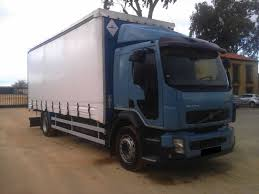 100 240 Truck VOLVO FL Trucks Curtainsider For Sale Tautliner Truck Lorry