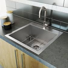 kitchen sink 2 handle kitchen faucet with pull sprayer