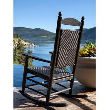 POLYWOOD® Jefferson Woven Rocker Polywood Pws11bl Jefferson 3pc Rocker Set Black Mahogany Patio Wrought Iron Rocking Chair Touch To Zoom Outdoor Cu Woven Traditional That Features A Comfortable Curved Seat K147fmatw Tigerwood With Frame Recycled Plastic Pws11wh White Outdoor Resin Rocking Chairs Youll Love In 2019 Wayfair Wooden All Weather Porch Rockers Vermont Woods Studios