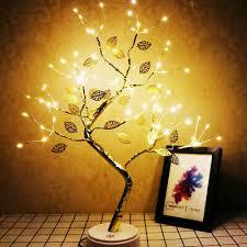 leuchtbaum led lichterbaum nachtlicht baum tischle