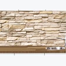 küchennischen deko wand küchen spritzschutz wandschutz motiv naturstein 68