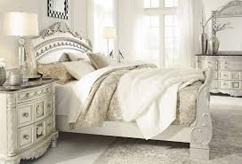 North Shore Sleigh Bedroom Set by Cassimore North Shore Pearl Silver Queen Sleigh Bed From Ashley