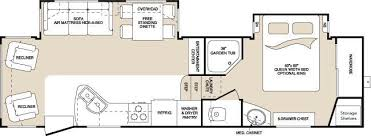 Montana Fifth Wheel Floor Plans 2004 by 2009 Keystone Montana 2955 Rl Fifth Wheel Tulsa Ok Rv For Sale