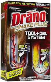 Drano For Kitchen Sink by Amazon Com Drano Snake Plus Tool Gel System Health U0026 Personal Care