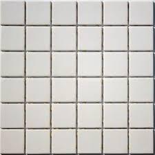 2 inch lyric unglazed porcelain mosaic tile in coal black