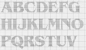Font pattern cross stitch free patterns free cross stitch