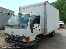 100 Mitsubishi Fuso Truck 1995 FE Box Truck Item L3094 SOLD June