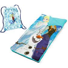 Frozen Bathroom Set Walmart by Disney Frozen Slumber Set Nap Mat With Bonus Sling Bag Walmart Com