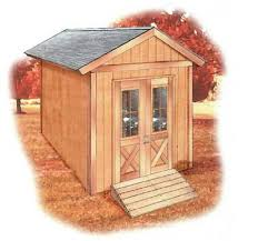 6 free shed plans