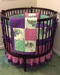 Etsy Baby Bedding by 42 Best Round Crib Bedding Images On Pinterest Round Cribs Crib