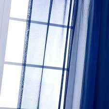 Sheer Curtain Panels Walmart by Cobalt Blue Sheer Curtains Royal Blue Sheer Curtain Scarf
