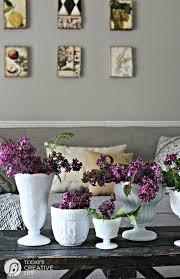 DIY Spring Decor Table