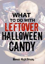 Operation Gratitude Halloween Candy by Mama U0027s High Strung The Kitchen Think Archives Mama U0027s High Strung