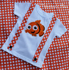 Finding Nemo Baby Clothes And by Super Cute Finding Nemo T Shirt With Orange Polka Dot