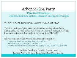 15 Arbonne Spa Party