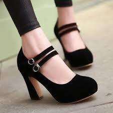 women u0027s chunky heel shoes qu heel