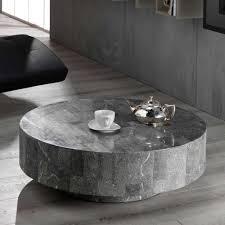 design couchtisch aus stein rund tisch kaufen de