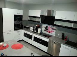 küche möbel form l mit kochinsel hochglanz farbe schw weiß neu