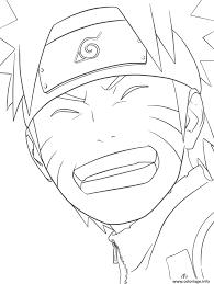 Coloriage Manga Naruto 122 JeColoriecom