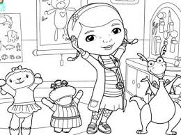Doc Mcstuffins To Print With Coloring Pages Printable For Aspiration