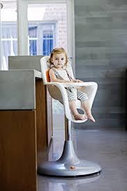 amazon com boon flair pedestal highchair with pneumatic lift