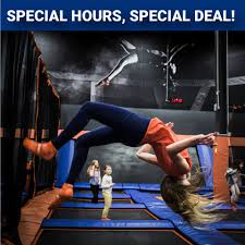 SPRING BREAK SPECIAL HOURS AND JUMP... - Sky Zone Shelby ...