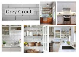 Grey Tiles With Grey Grout by Modern Farmhouse Ultimate Decision Subway Tile Grey Grout Vs