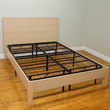 hercules queen size 14 in h heavy duty metal platform bed frame
