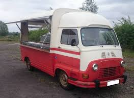 VERY RARE RENAULT ESTAFETTE CATERING VAN IDEAL FOOD TRUCK For Sale 1974