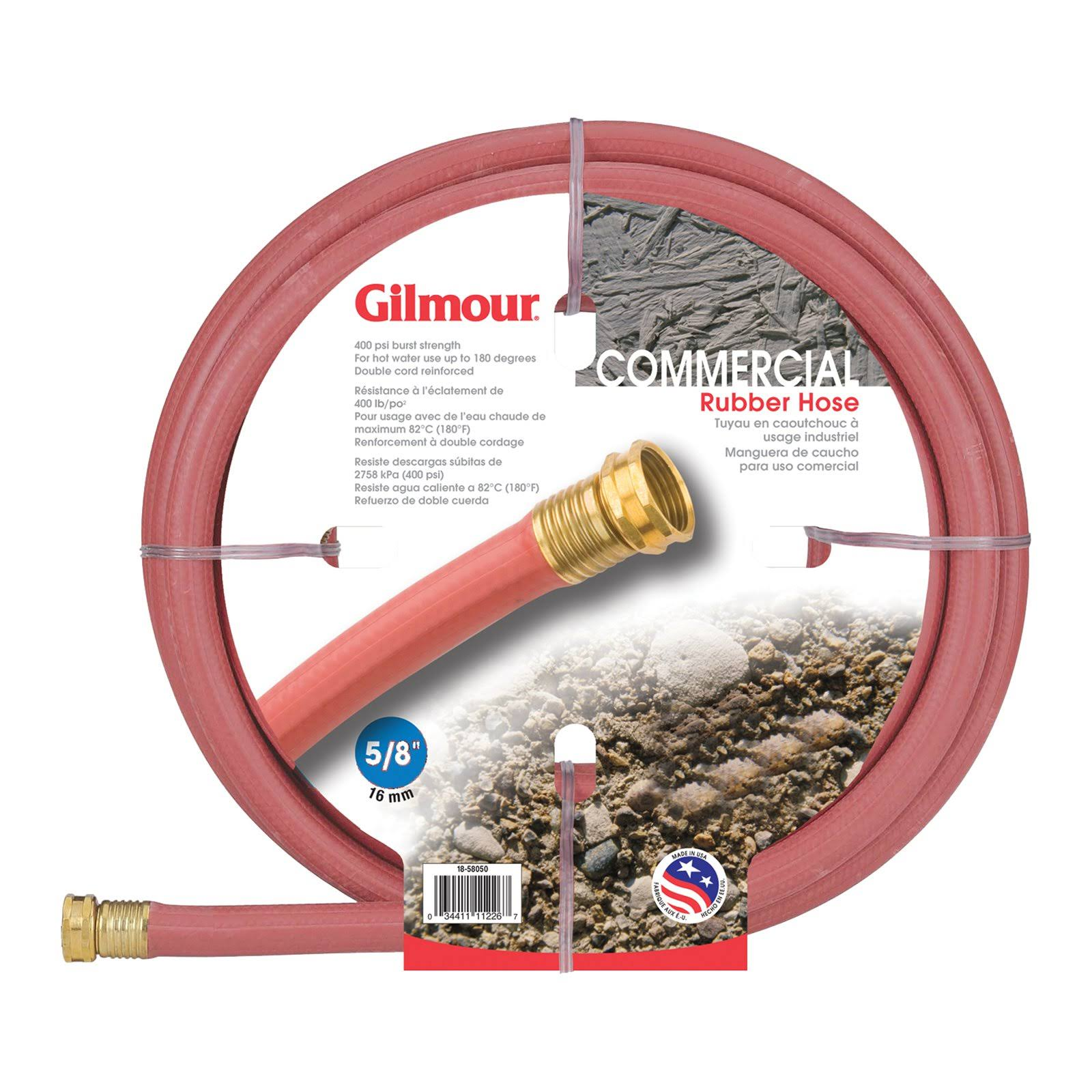 Gilmour Commercial Hot Water Rubber Hose - 25'