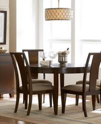 prescot round dining table furniture macy s