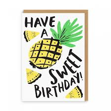 Have A Sweet Birthday Greeting Card Ohh Deer