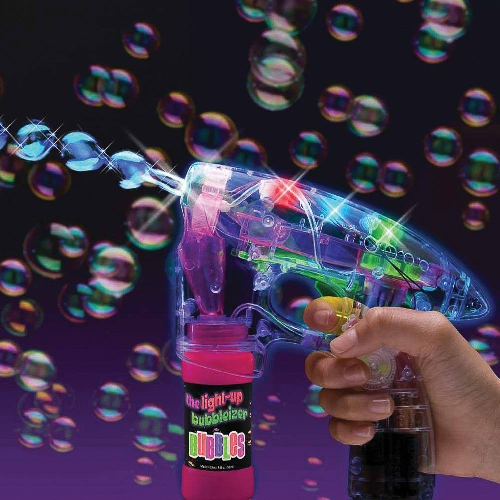 The Light Up Bubbleizer Bubble Gun